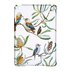 Australian Kookaburra Bird Pattern Apple iPad Mini Hardshell Case (Compatible with Smart Cover)