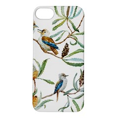 Australian Kookaburra Bird Pattern Apple iPhone 5S/ SE Hardshell Case