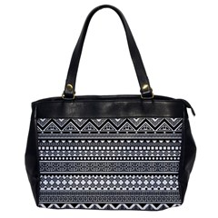 Aztec Pattern Design Office Handbags