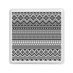 Aztec Pattern Design Memory Card Reader (Square)