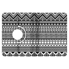 Aztec Pattern Design Kindle Fire HDX Flip 360 Case