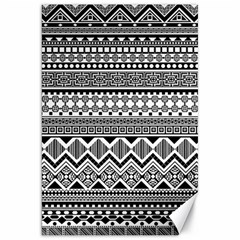 Aztec Pattern Design Canvas 20  x 30