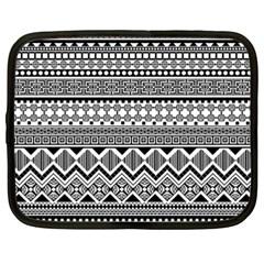 Aztec Pattern Design Netbook Case (XXL)