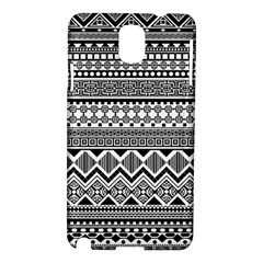 Aztec Pattern Design Samsung Galaxy Note 3 N9005 Hardshell Case