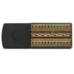 Aztec Pattern Ethnic USB Flash Drive Rectangular (4 GB)
