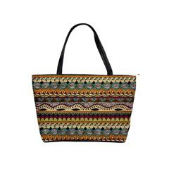 Aztec Pattern Ethnic Shoulder Handbags