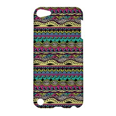 Aztec Pattern Cool Colors Apple iPod Touch 5 Hardshell Case