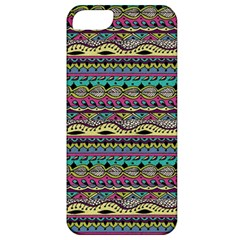 Aztec Pattern Cool Colors Apple iPhone 5 Classic Hardshell Case