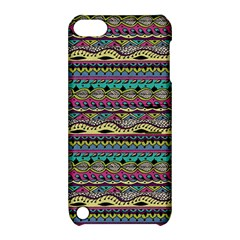 Aztec Pattern Cool Colors Apple iPod Touch 5 Hardshell Case with Stand