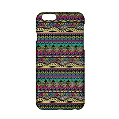 Aztec Pattern Cool Colors Apple iPhone 6/6S Hardshell Case