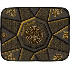 Aztec Runes Fleece Blanket (Mini)