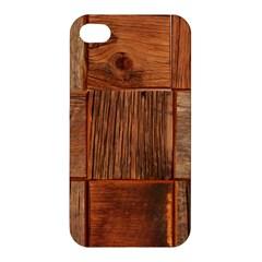 Barnwood Unfinished Apple iPhone 4/4S Premium Hardshell Case