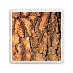 Bark Texture Wood Large Rough Red Wood Outside California Memory Card Reader (Square)