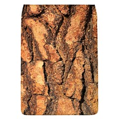 Bark Texture Wood Large Rough Red Wood Outside California Flap Covers (L)