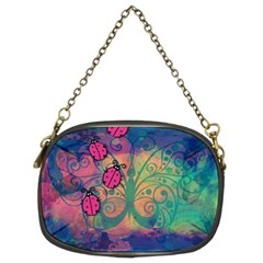 Background Colorful Bugs Chain Purses (Two Sides)