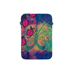 Background Colorful Bugs Apple iPad Mini Protective Soft Cases