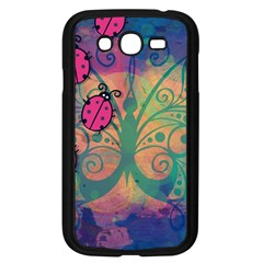 Background Colorful Bugs Samsung Galaxy Grand DUOS I9082 Case (Black)