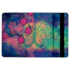 Background Colorful Bugs iPad Air 2 Flip