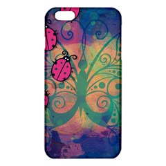 Background Colorful Bugs iPhone 6 Plus/6S Plus TPU Case