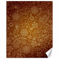 Batik Art Pattern Canvas 11  x 14