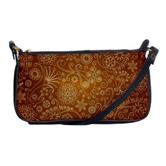 Batik Art Pattern Shoulder Clutch Bags