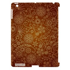 Batik Art Pattern Apple iPad 3/4 Hardshell Case (Compatible with Smart Cover)