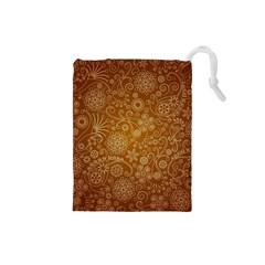 Batik Art Pattern Drawstring Pouches (Small)