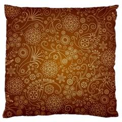 Batik Art Pattern Standard Flano Cushion Case (One Side)