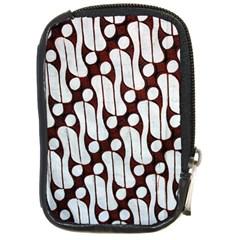 Batik Art Patterns Compact Camera Cases