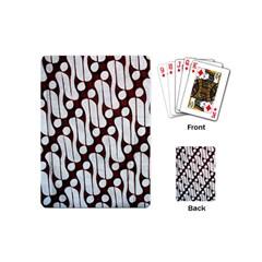 Batik Art Patterns Playing Cards (Mini)