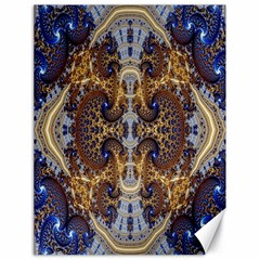 Baroque Fractal Pattern Canvas 18  x 24