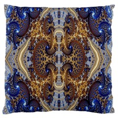 Baroque Fractal Pattern Large Cushion Case (Two Sides)