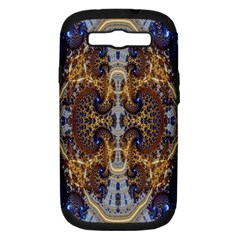 Baroque Fractal Pattern Samsung Galaxy S III Hardshell Case (PC+Silicone)