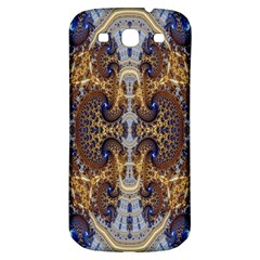 Baroque Fractal Pattern Samsung Galaxy S3 S III Classic Hardshell Back Case