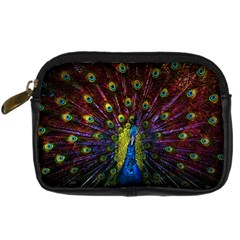 Beautiful Peacock Feather Digital Camera Cases