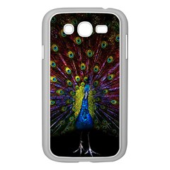 Beautiful Peacock Feather Samsung Galaxy Grand DUOS I9082 Case (White)