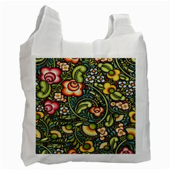 Bohemia Floral Pattern Recycle Bag (Two Side)