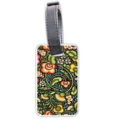 Bohemia Floral Pattern Luggage Tags (Two Sides)