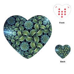 Blue Lotus Playing Cards (Heart)