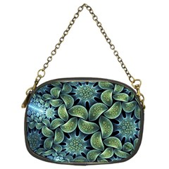 Blue Lotus Chain Purses (Two Sides)