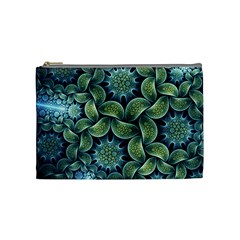 Blue Lotus Cosmetic Bag (Medium)