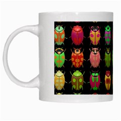 Beetles Insects Bugs White Mugs
