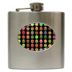 Beetles Insects Bugs Hip Flask (6 oz)