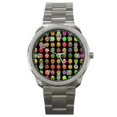 Beetles Insects Bugs Sport Metal Watch