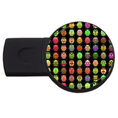 Beetles Insects Bugs USB Flash Drive Round (4 GB)