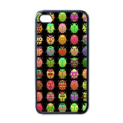 Beetles Insects Bugs Apple iPhone 4 Case (Black)