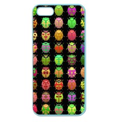 Beetles Insects Bugs Apple Seamless iPhone 5 Case (Color)