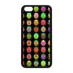 Beetles Insects Bugs Apple iPhone 5C Seamless Case (Black)