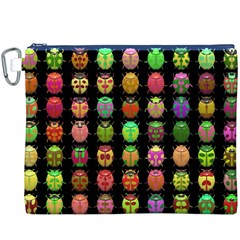 Beetles Insects Bugs Canvas Cosmetic Bag (XXXL)