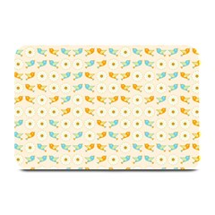 Birds And Daisies Plate Mats